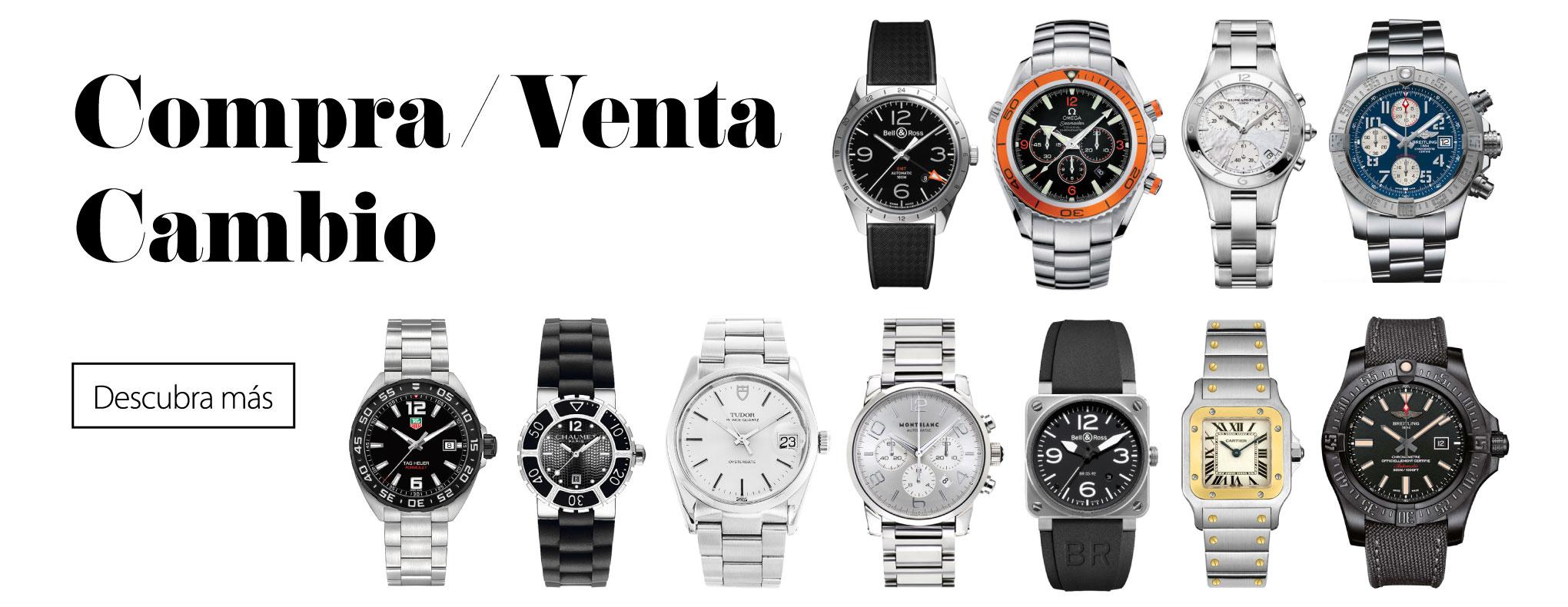 01159e284d55 Nosotros tenemos un respeto hacia el mundo de los relojes que nos exige no  vender ninguna pieza que nosotros mismos no compraríamos.